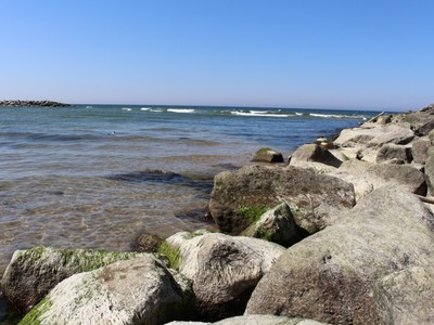 kamienie na plazy