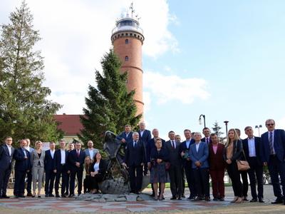 Spotkanie członków PSORW w gminie Postomino