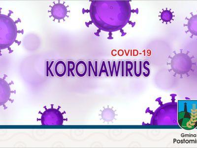 plakat - korona wirus