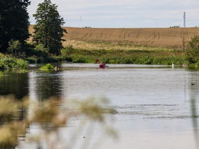 Rzeka Wierzyca w Zamku Kiszewskim