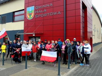 """II Kiszewski Marsz Flagi  """"Nordic Walking w Barwach Narodowych"""""""