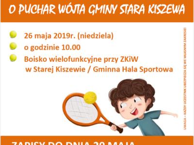 Turniej Tenisa Ziemnego o Puchar Wójta Gminy Stara Kiszewa