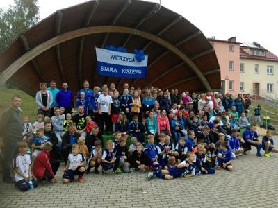 Piknik sportowy dla juniorów klubu Wierzyca Stara Kiszewa