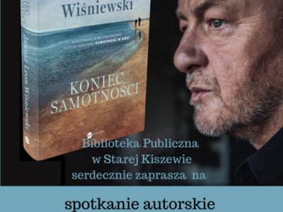 Spotkanie autorskie z Januszem Leonem Wiśniewskim
