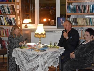 Spotkanie z pisarzem Januszem Leonem Wiśniewskim