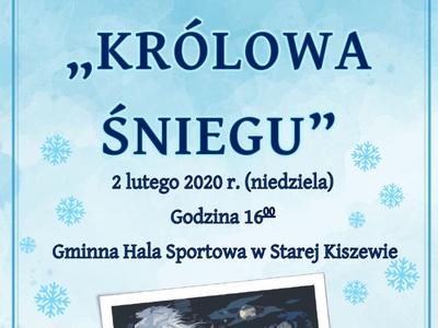 """Przedstawienie """"Królowa Śniegu"""""""