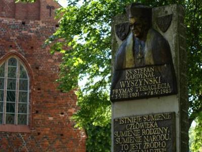 Pomnik księdza kardynała Stefana Wyszyńskiego