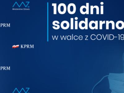 100 dni solidarności w walce z COVID-19