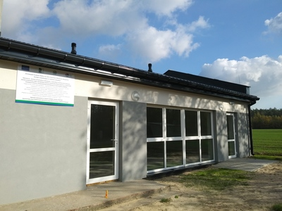 Przebudowana część istniejącego budynku OSP w miejscowości PrzystajniaKolonia [400x300]