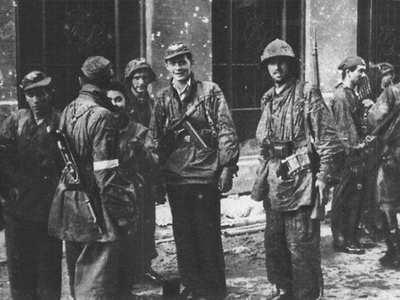 """Żołnierze Batalionu """" Zośka""""  1944 r."""
