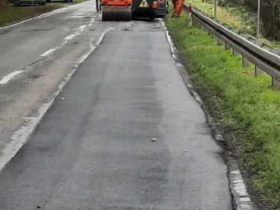 prace remontowe na odcinku drogi wojewódzkiej nr 449