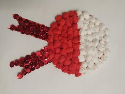 kokarda biało-czerwona - narodowy symbol Polaków