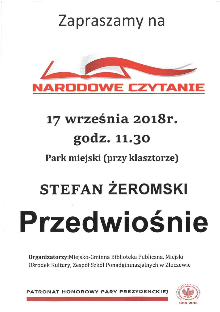 Autor plakatu: ZSP Złoczew