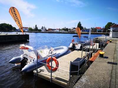 Wypożyczalnia łodzi pontonowych