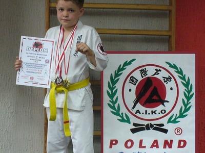 Najlepszy zawodnik mistrzostw Gabriel Włodarczyk z Klubu Jeżyczki