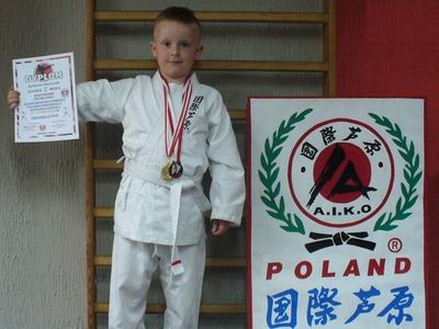 Karol Marciniak z Darłowa - nagroda z bojowości i hart ducha