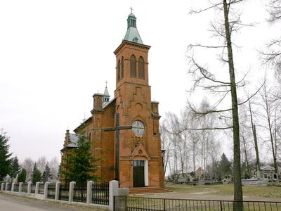 Neogotycki Kościół Św. Anny w Wojnówce