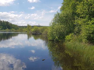 Zdjęcie przedstawia Jezioro w Pękaninie.