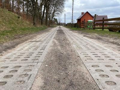 Modernizacja drogi w Święcianowie