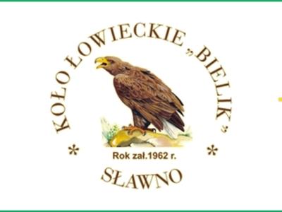 """Logo Koła Łowieckiego """"Bielik"""" Sławno"""