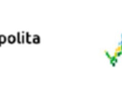 """Logo projektu """"Dla dobra dzieci-rozwój 13 placówek wsparcia dziennego w Gminie Malechowo""""."""