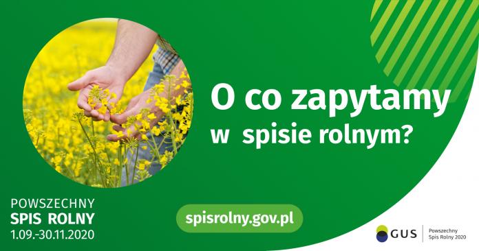 Grafika Powszechnego Spisu Rolnego - O co zapytamy w spisie rolnym.