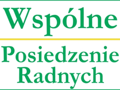 Ikona dekoracyjna Wspólne Posiedzenie Radnych