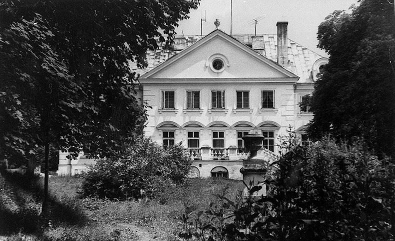 Archiwalne zdjęcie Pałacu Suchodolskich