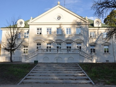 Pałac Suchodolskich od strony parku