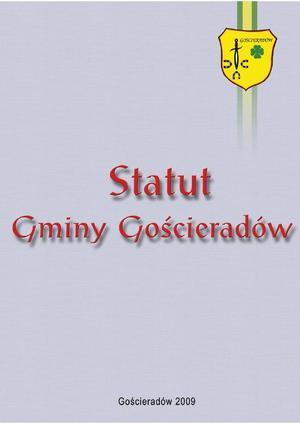 Statut Gminy Gościeradów [300x424]