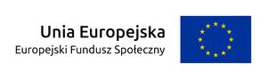Logo Unia Europejska Europejski Fundusz Społeczny [300x89]