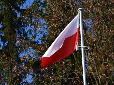 Zdjęcie flagi biało-czerwonej