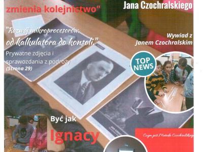 plakat ze zdjęciami z klasy