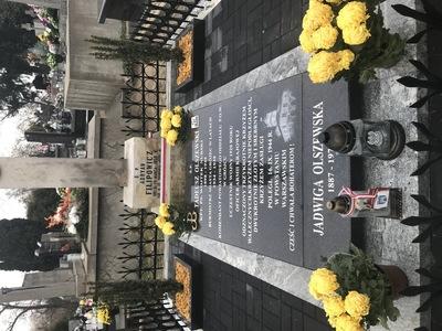 Grób Tadeusza Olszewskiego, ostatniego przedwojennego burmistrza Grójca