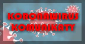 Koronawirus - komunikaty