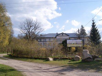 Pałac w Bukówku - zajazd