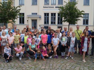 Wspólne zdjęcie grupy wyjazdowej