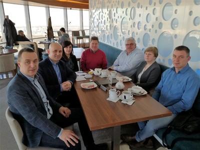 Delegacja z gminy Tychowo oraz Neverin