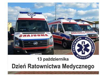 13 października Dzień Ratownictwa Medycznego