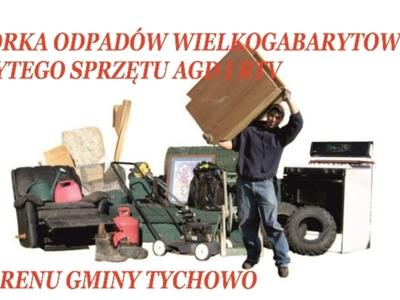 Zbiórka odpadów wielkogabarytowych, zużytego sprzętu AGD i RTV