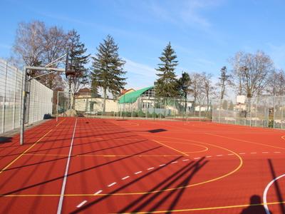 Remont boiska sportowego wielofunkcyjnego w Wieczfni Kościelnej