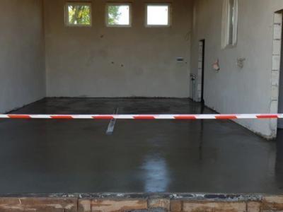 Garaż prawie gotowy