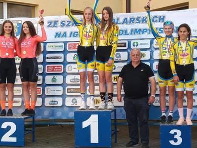 Złoty medal Julii Zdunek