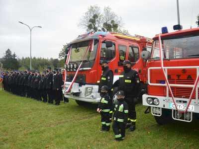 Nowy samochód pożarniczy dla OSP Dobre