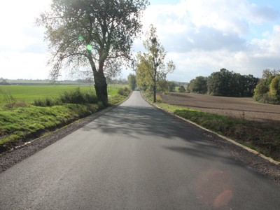Przebudowa drogi do Wągier