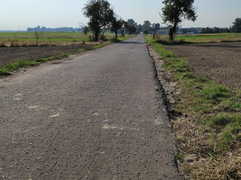 Przebudowa drogi powiatowej Nr 2934E w miejscowości