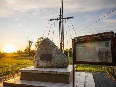 """""""Obelisk"""" w Makówcu oraz jego historia"""